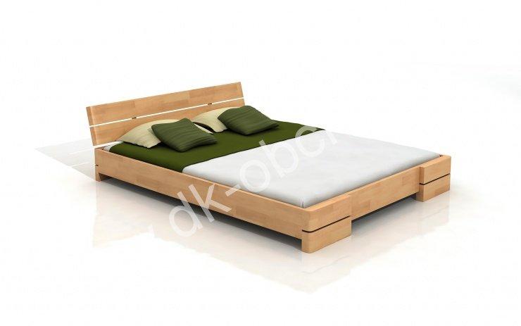 Buková postel z masivu Sandemo 200x200