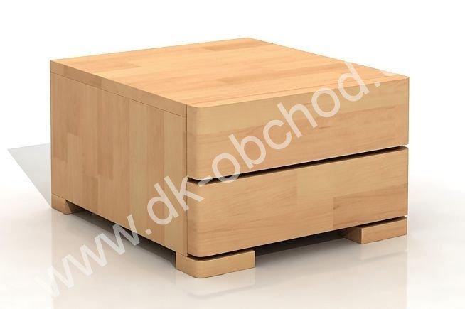 Noční stolek z masivu buk Sandemo 1S