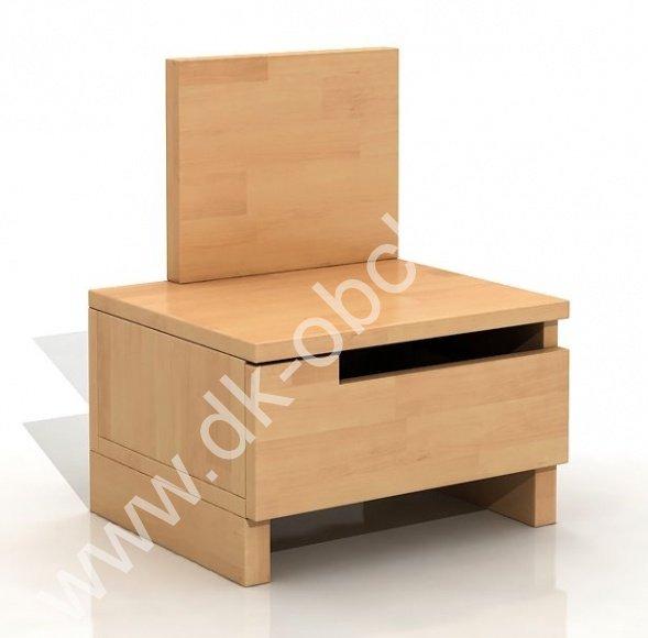 Bukový noční stolek z masivu Bergman