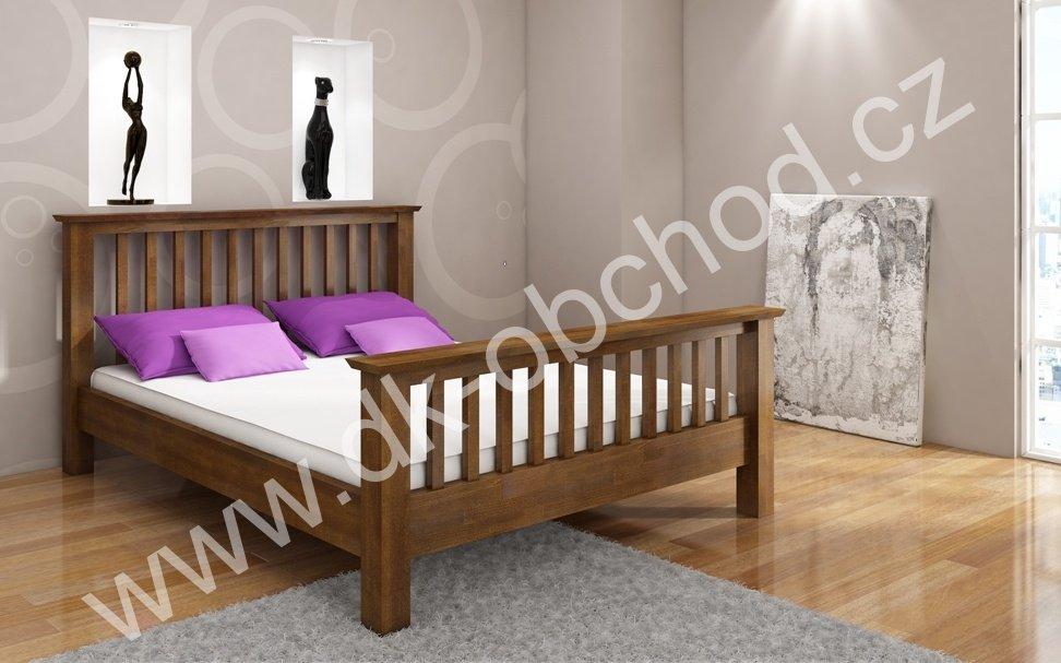 Buková postel z masivu Lindgren 200x200