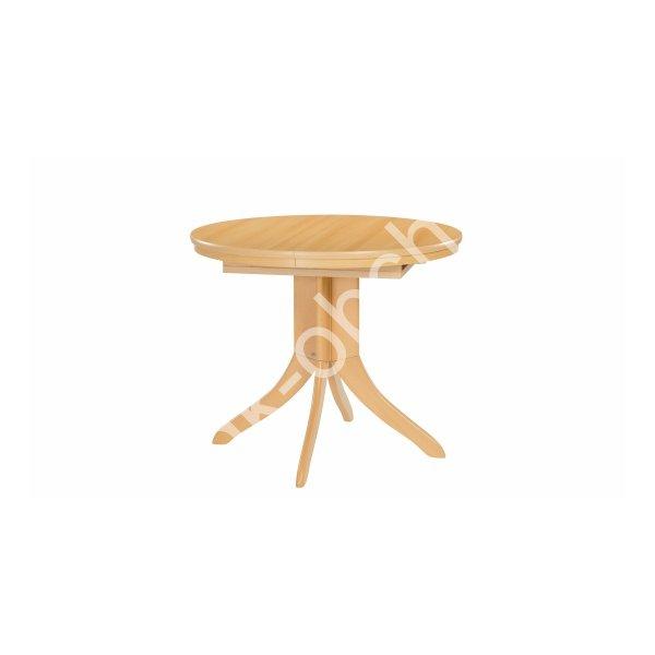 Jídelní stůl Asolo - kulatý, rozkládací