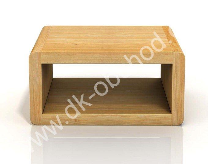 Noční stolek z masivu borovice Boverio