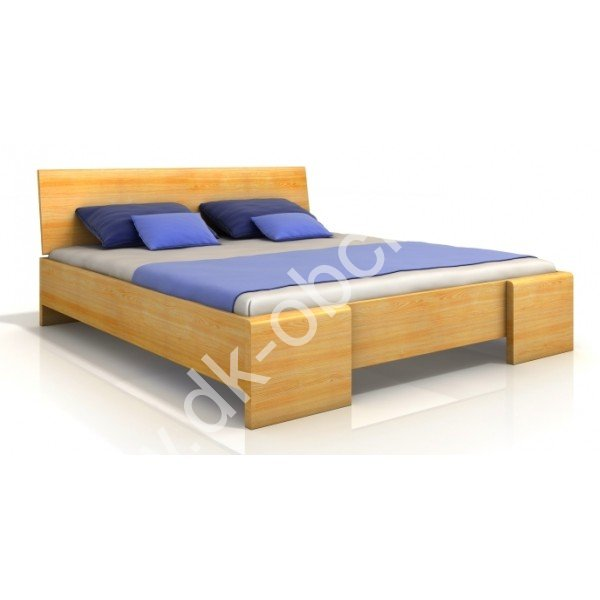 Zvýšená postel z masivu Hessler Maxi 140x200