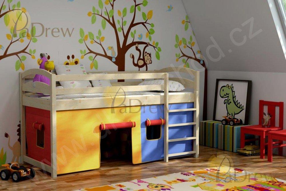 Dětská zvýšená postel ATOS