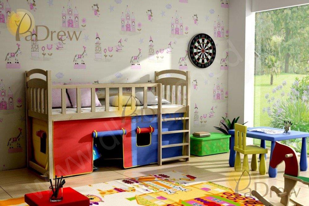 Dětská zvýšená postel ARAMIS