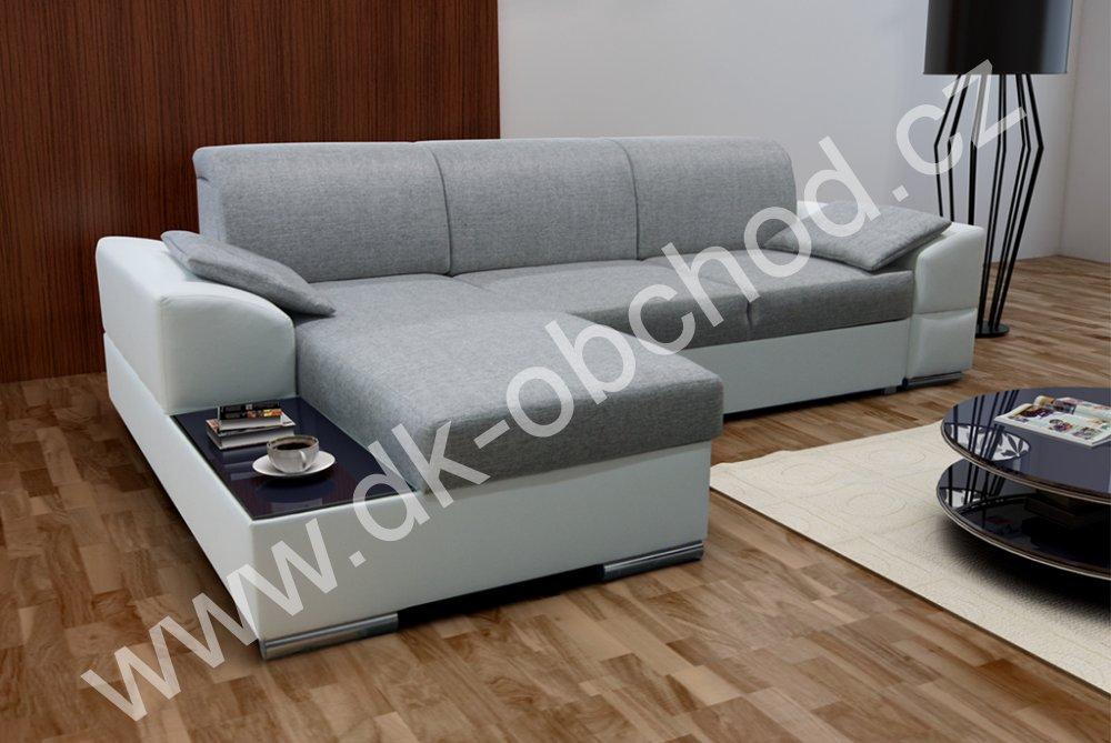 Rozkládací sedací souprava s úložným prostorem - Marcel