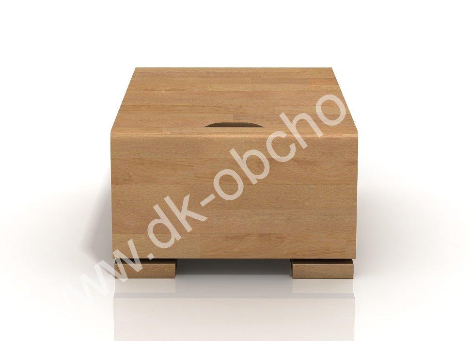 Bukový noční stolek z masivu Hessler