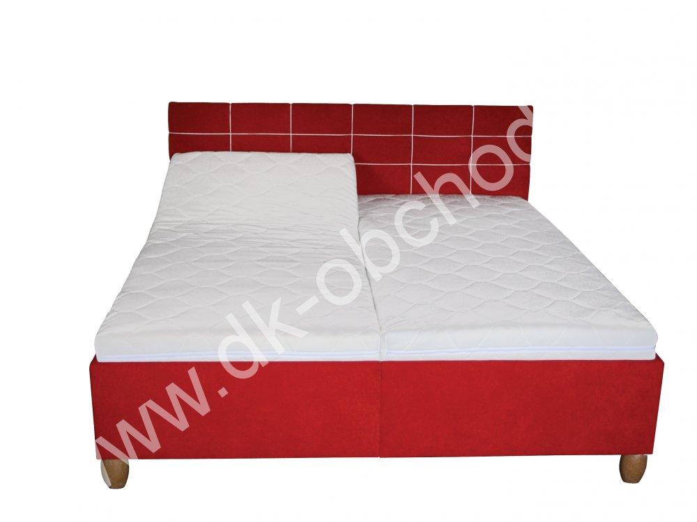Čalouněná postel AGÁTA senior - polohovací
