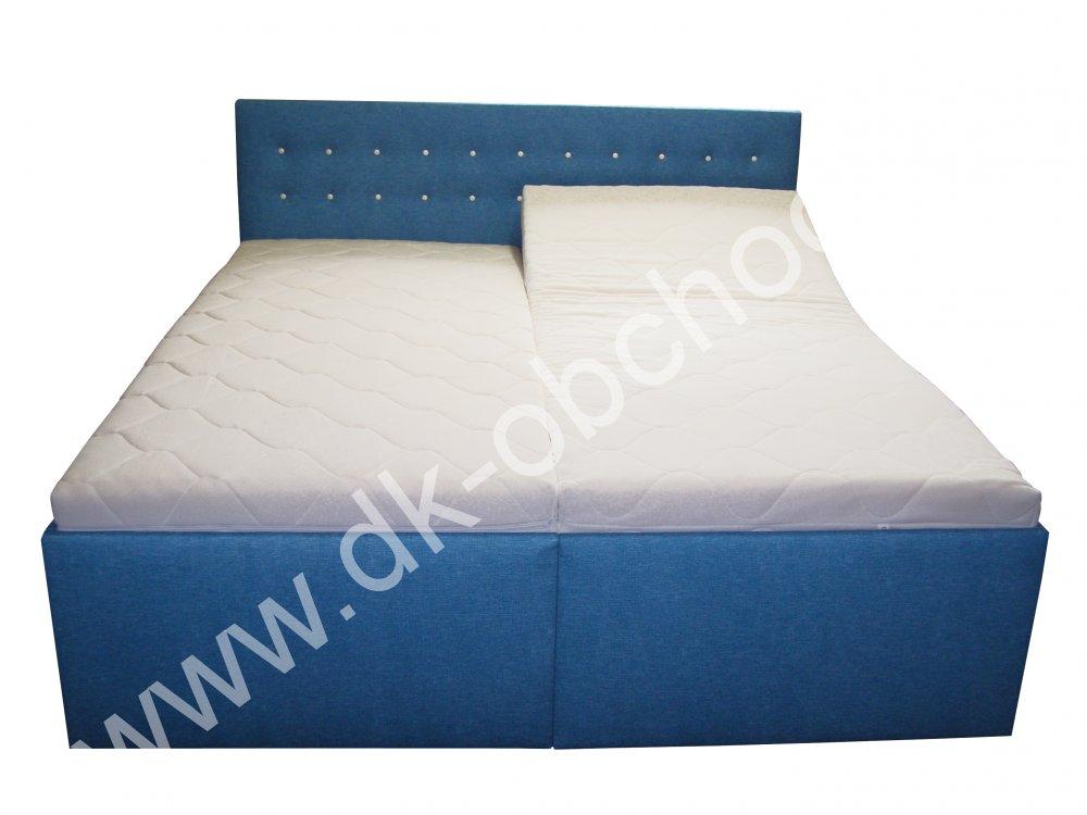 Čalouněná postel ANETA senior - polohovací