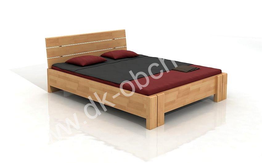 Buková zvýšená postel z masivu Arhus 200x220 - high long