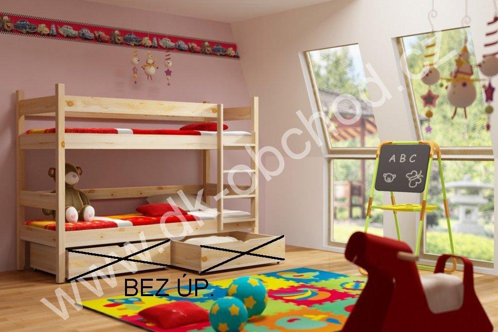 Patrová postel Elegant - bez úložných prostorů