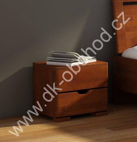 Bukový noční stolek z masivu Hessler Maxi