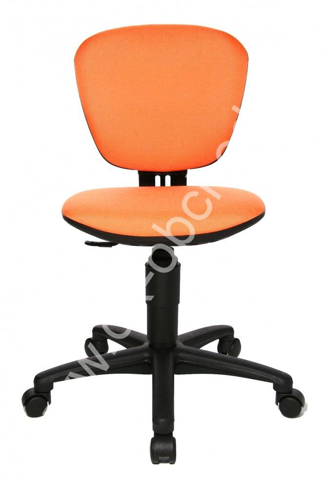 Dětská židle - HIGH KID oranžová