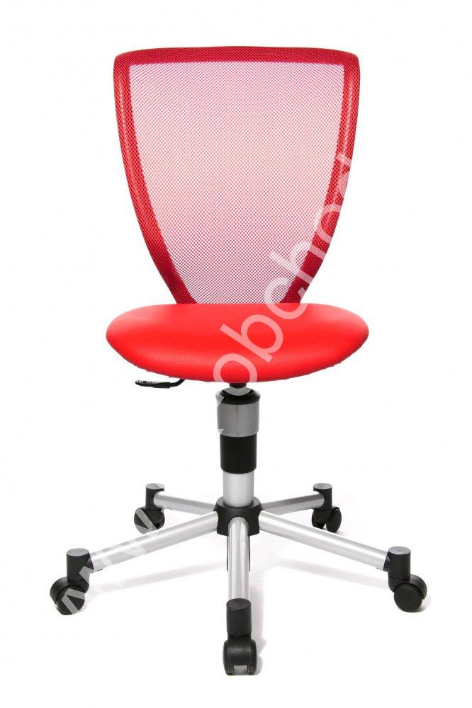 Dětská židle - TITAN JUNIOR červená