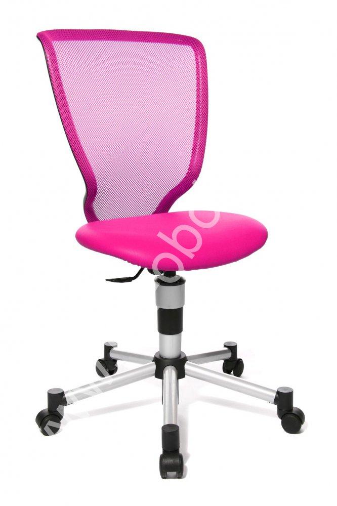 Dětská židle - TITAN JUNIOR růžová