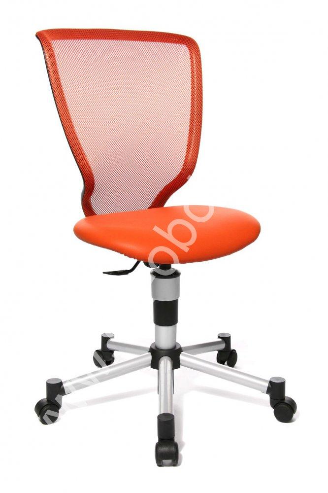 Dětská židle - TITAN JUNIOR oranžová
