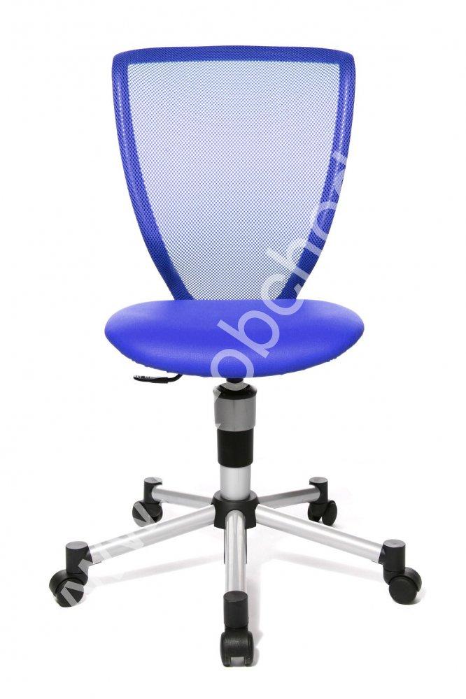 Dětská židle - TITAN JUNIOR modrá