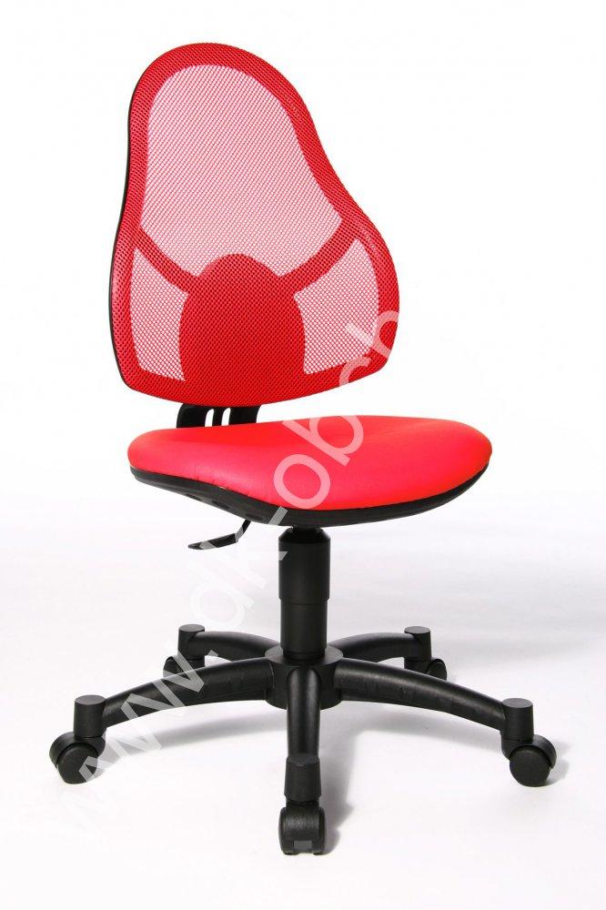 Dětská židle - OPEN ART JUNIOR červená