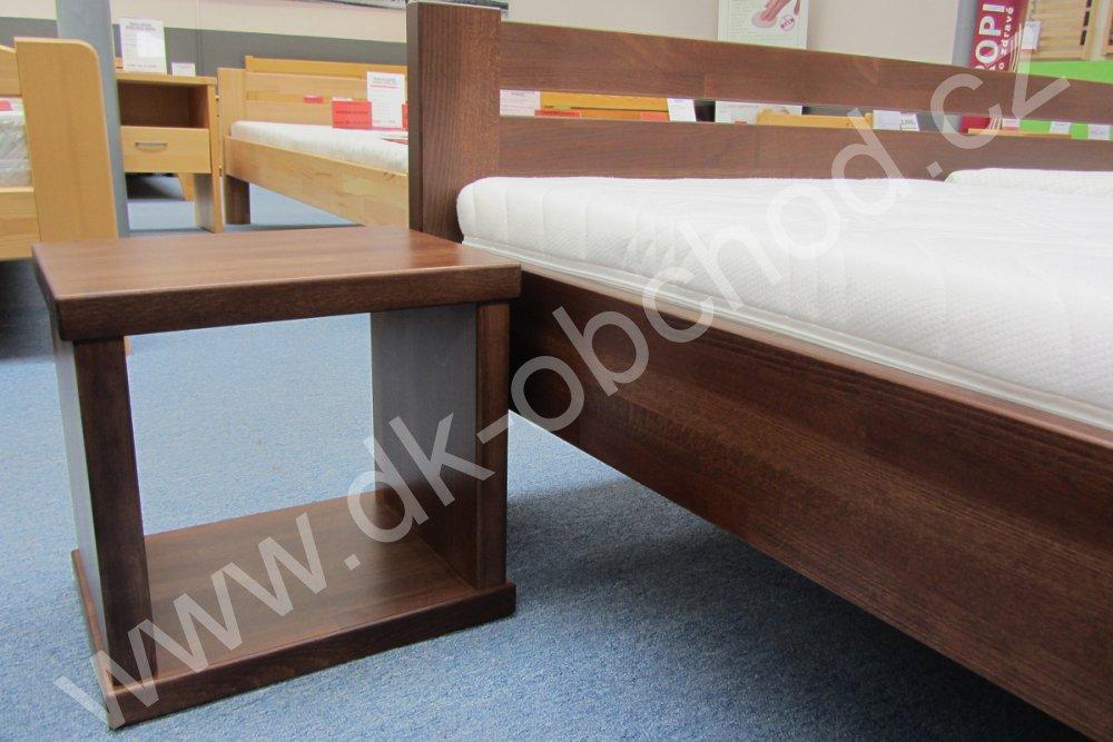 Noční stolek KAREL - masiv buk