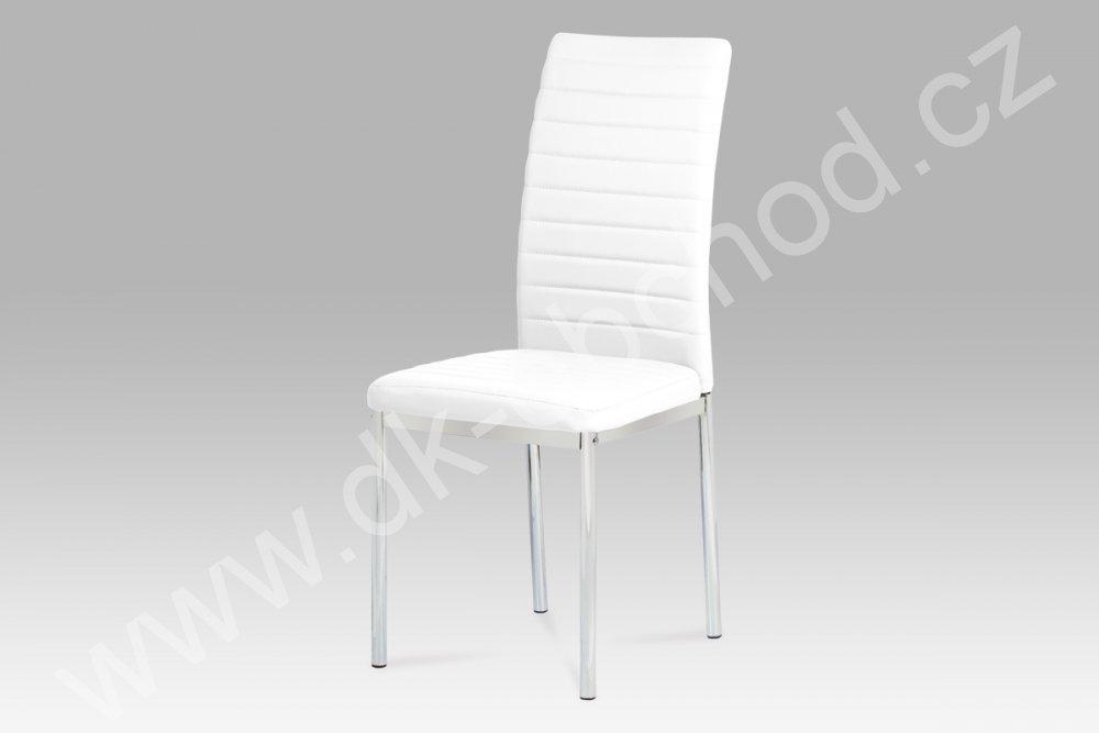 Jídelní židle Angelina - BÍLÁ