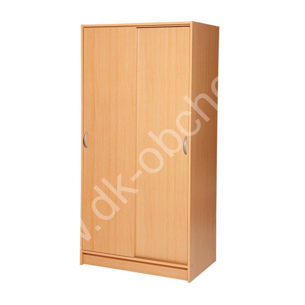 Skříň s posuvnými dveřmi A3 - lamino buk